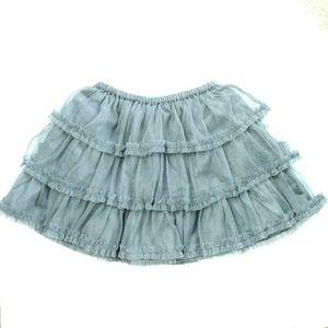 Toddler Layered Ruffle Skirt